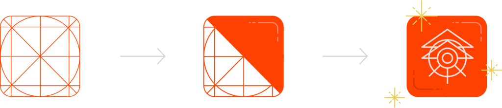Airship's app icon illustration